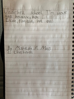 Tilly's incredible poem Part 2!