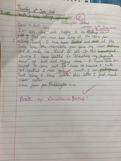 Nouf's wonderful writing!