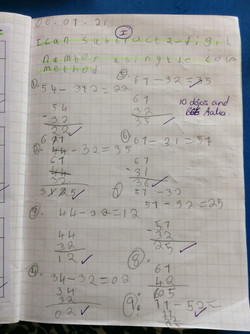 Aalia's excellent maths!