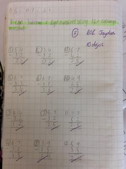Jayden's brilliant maths!