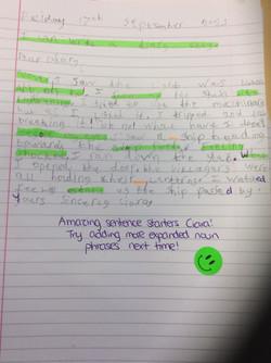 Ciara's wonderful writing!