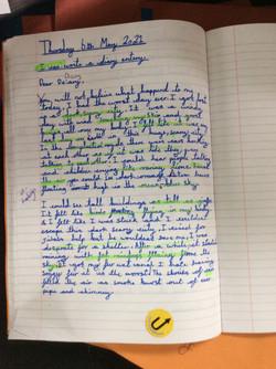 Ayesha's fantastic writing!