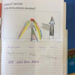Zehra's brilliant progress in writing!