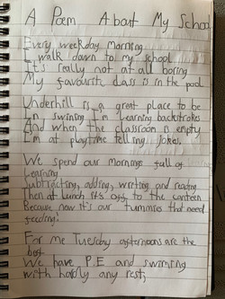 Tilly's incredible poem!