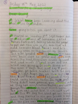 Scarlet's incredible diary entry!