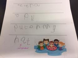 Helena's amazing writing!