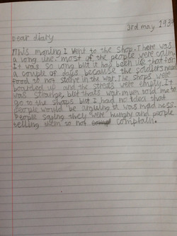 Liam's incredible progress with writing!
