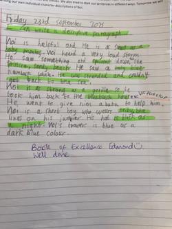 Edmond's wonderful writing!