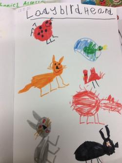 Alanah's wonderful story characters!