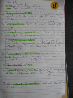 Harrie's excellent writing!