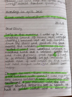Leo C's excellent use of reported speech