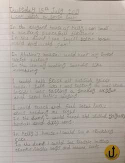 Tara's amazing sense poem!