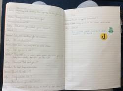 Chloe's fantastic play script!