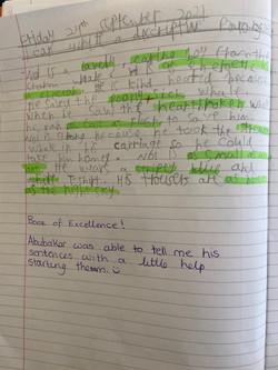 Abubaker's fabulous writing!