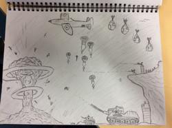 Kush's excellent art work!