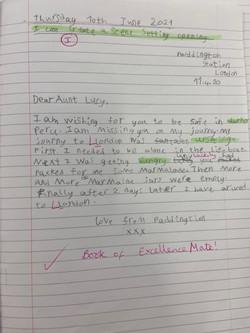 Mate's wonderful writing!