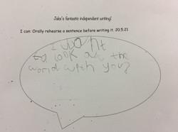 Jake's brilliant writing!