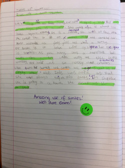 Emma's incredible writing!