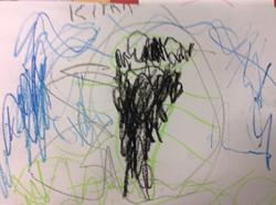 Kiyan's wonderful spider picture!