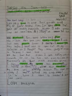 Aiman's wonderful writing!