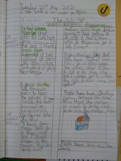 Ellie's wonderful writing!