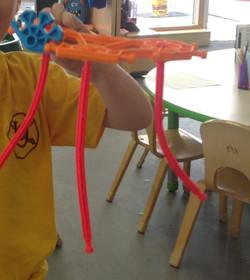 Jack's sea creature model!