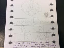 Georgie's brilliant writing!