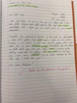 Einara's amazing writing!