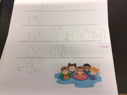 Kiyan's amazing writing!