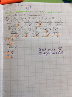 EJ's brilliant maths!