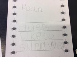 Roan's amazing writing!