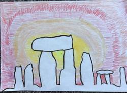 Dharma's fantastic Stone Age art!