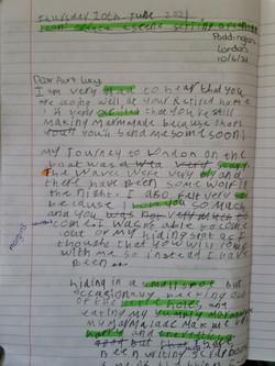 Asli's amazing writing!