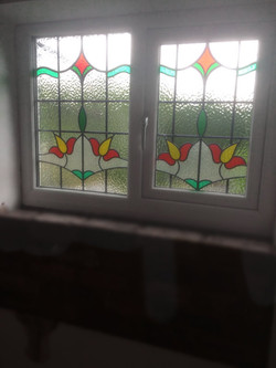 STAINED GLASS WINDOWS & DOORS