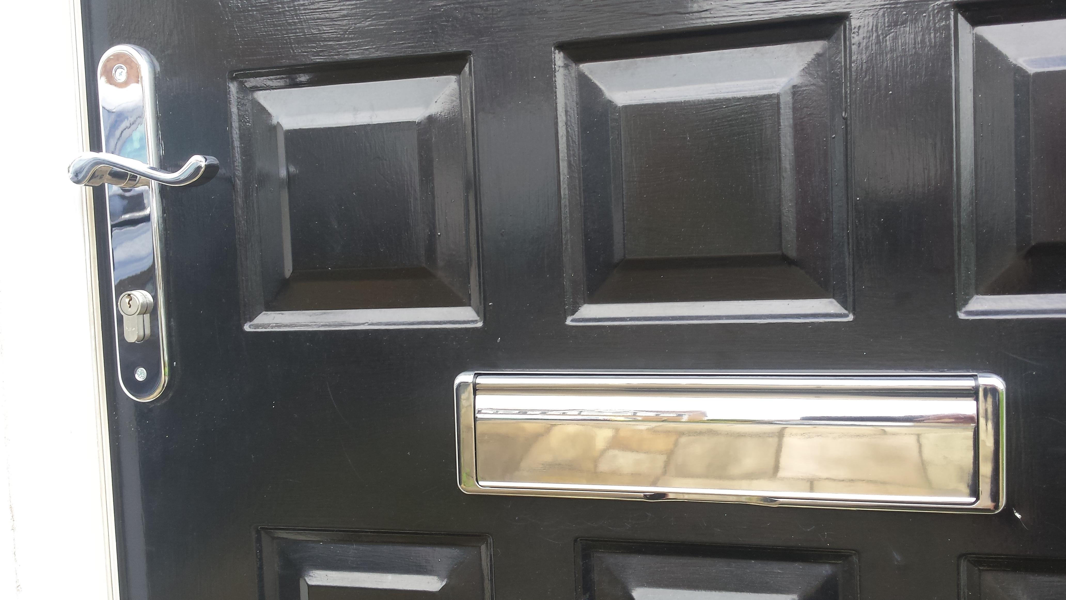 Replacement Door Handles & Letterbox