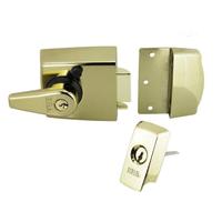 Heavy duty british-standard night latch for wooden doors