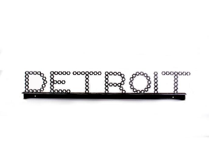 """""""Detroit"""" Sign"""