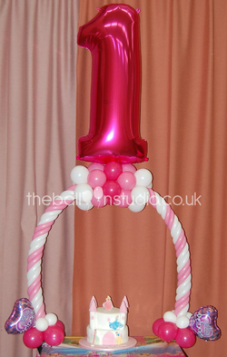 Candy Cane Table Arch