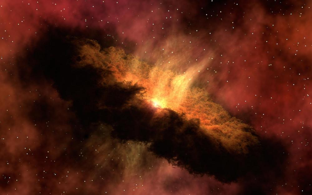 Artist's impression of a supernova - from wix.com