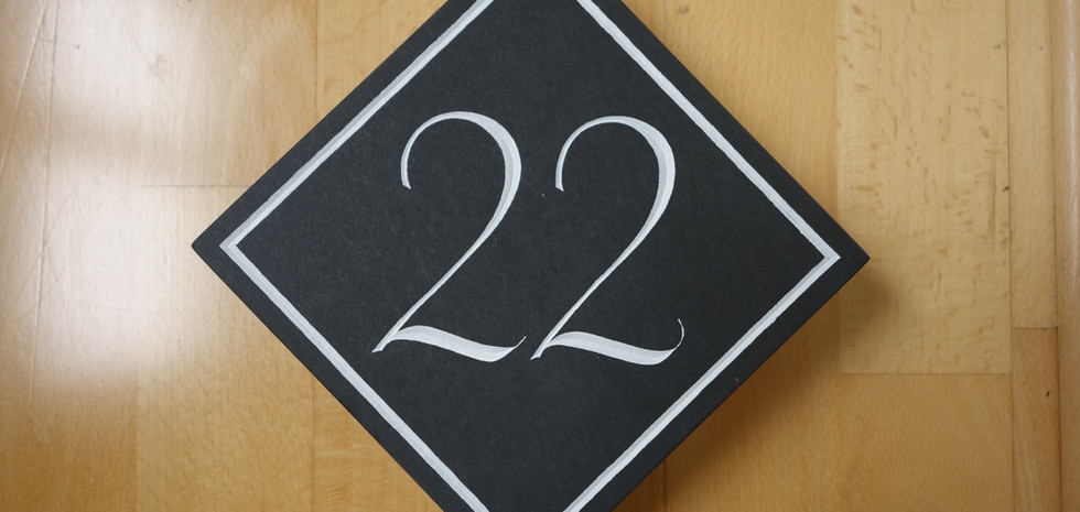 House number 22