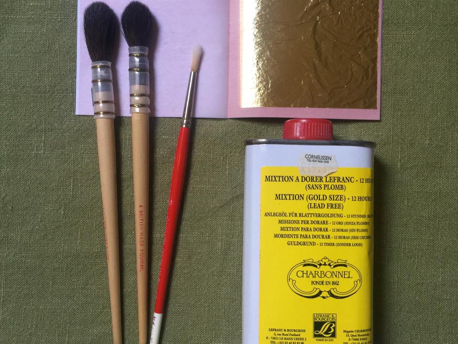 Gilding (tools and materials)
