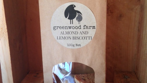 Lemon and Almond Biscotti