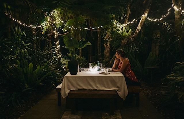 Private Dining in the rainforest