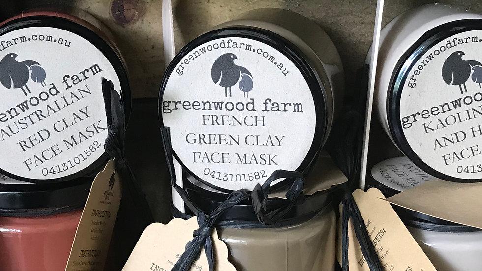 Clay Masks - varieties