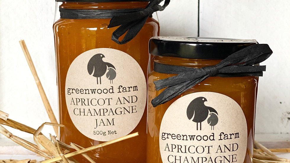 Apricot and Champagne Jam