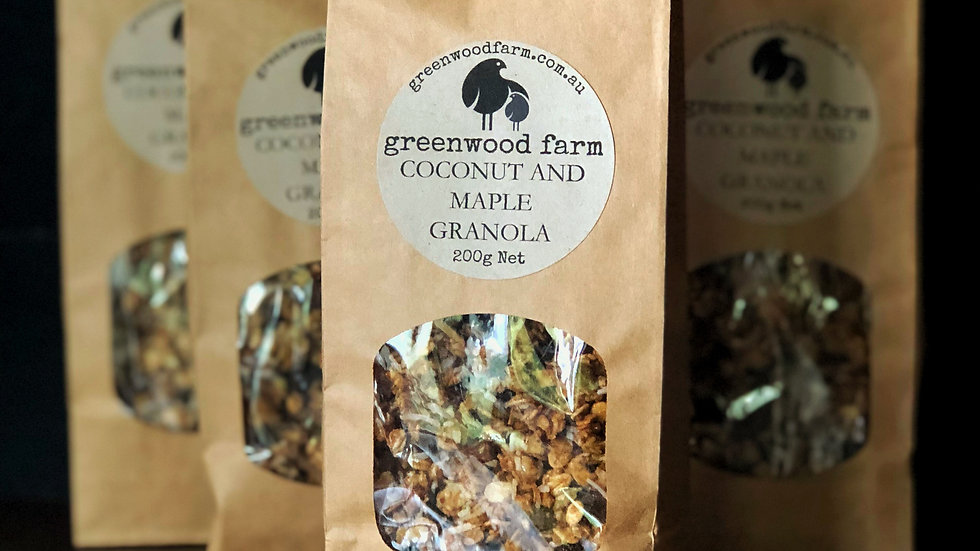 Coconut and Maple Granola