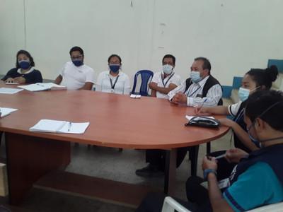 Reunión con el Centro de Salud