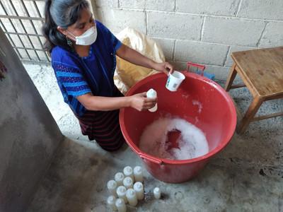 Elaboración de jabón