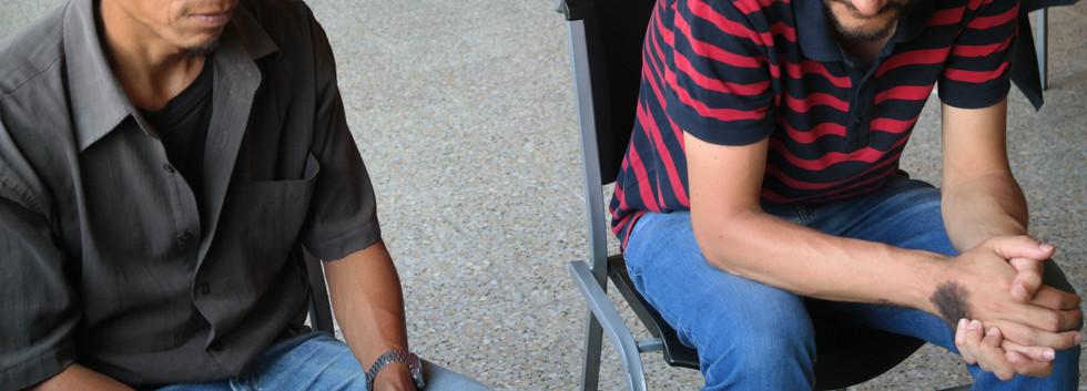 Iñaki, voluntario en audiovisuales