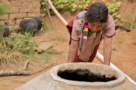 Construcción de cisternas